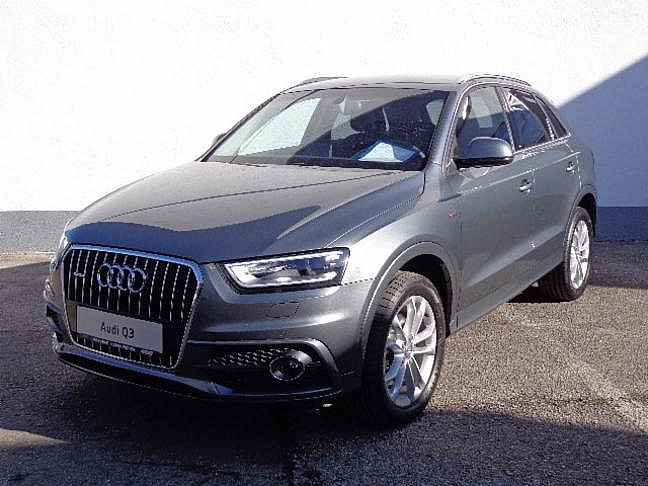 audi q3 2 0 tdi quattro daylight monsungrau metallic im auto jungwagen outlet von autohaus. Black Bedroom Furniture Sets. Home Design Ideas